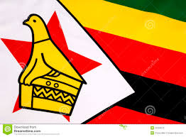 De Flag Zimbabwe Flag Stock Illustration Illustration Of Series 5085764