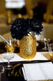 Black And White Centerpieces For Weddings by Sale Black Gold And White Centerpiece Vases Black Gold And White