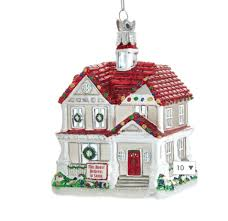 this house believes in santa glass house ornament store