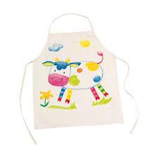 tablier de cuisine enfant personnalisé tablier de cuisine à décorer goki la fée du jouet dessin et