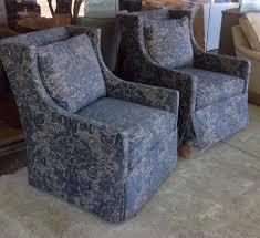 Lee Industries Swivel Chair 1011 01 Swivel Chairs In Jasper Indigo Lee Industries Swivel