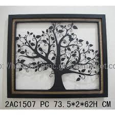 decorative wrought iron tree wall manufacturer from fuzhou china