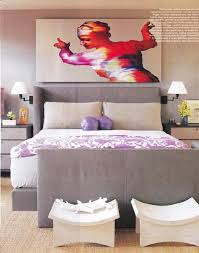 Pink And Purple Room Decorating by Purple Blanket Transitional Bedroom