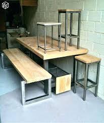 table et banc de cuisine table de cuisine d angle awesome table banc cuisine table table de