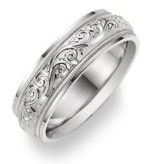engraved or etched men wedding rings wedding specialiststhe