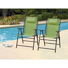mainstays heritage park stacking sling chair tan walmart com