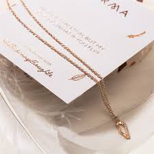 gold wing necklace images Karma little penny thoughts rose gold wing necklace jpg