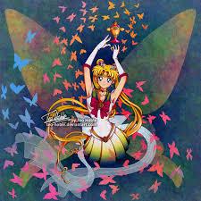 sailor moon butterflies by teo hoble on deviantart