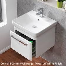 qualitex ascent furniture cornell 500mm wall hung base unit