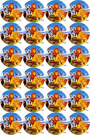 lion king wrapping paper simplycaketoppers find offers online and compare prices at wunderstore