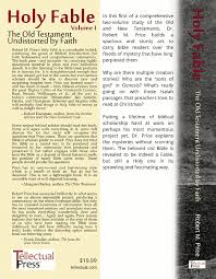 holy fable u2013 the old testament undistorted by faith