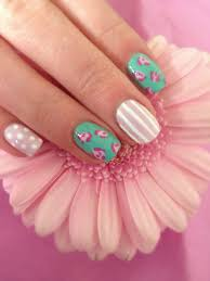 nail art gelish harmony summer nail designs gelish nail art