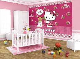 Bedroom Design For Girls Pink Hello Kitty Hello Kitty Bedroom Idea For Your Cute Little