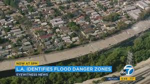 thousands homes along la river in if flood hits study