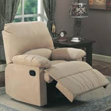 furniture amusing stylish recliners with leather material and