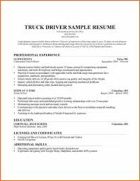 Sample Resume For Truck Driver by Tow Truck Driver Cover Letter