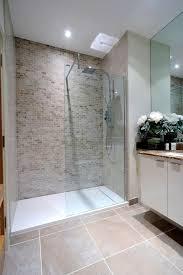 Feature Wall Bathroom Ideas Improbable Open Shower Tile Feature Wall Tiles Best Beige Bathroom