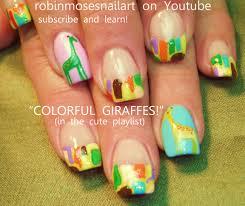 robin moses nail art summer fun nails umbrella nails