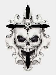 skull cross stock illustration illustration of