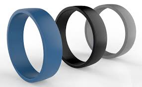 mens rubber wedding bands rings non conductive wedding ring replacement wedding ring
