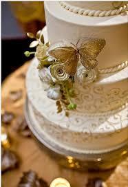 wedding cake gold gold wedding white gold wedding cakes 2115405 weddbook