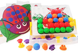 peg button art push u0026 snap color matching pegboard with 12 full