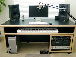 Recording Studio Desk Design by Kk Audio Customizable Keyboard Desk Lessonator Com Music