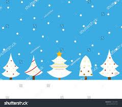 Set Beautiful Christmas Tree Stock Vector 514474087 Shutterstock