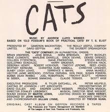 cats broadway cast 1983 winter garden theatre gottagodisco flickr