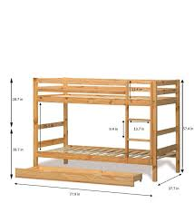 Buy Oslo Bunk Bed In Pink By Alex Daisy Online Bunk Beds Kids - Pink bunk bed