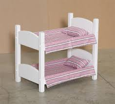 Wooden Doll Bunk Bed From DutchCrafters Amish Furniture - Dolls bunk bed