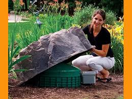 Fake Rocks For Landscaping by Decorative Septic Tank Cover Rock Dekorra Model 111 Fake Rock