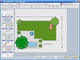 free landscape planner arrange the necessary items on a