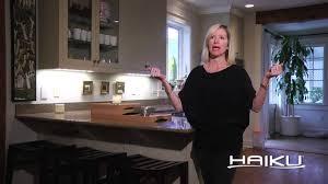 Haiku Led Ceiling Fan Customer Testimonial For The Haiku Ceiling Fan Sharon P Youtube