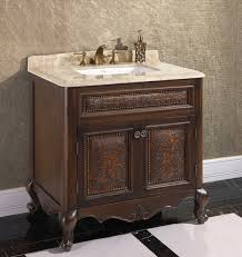 Furniture Style Bathroom Vanities Awesome Decorative Bathroom Vanity Cabinets Within Fabulous Best