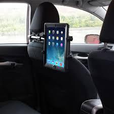 support tablette voiture entre 2 sieges support voiture universel tablette pour appui tête arkon tab3 rshm