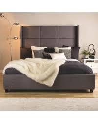 Tufted King Bed Frame Savings On Jillian Upholstered King Size Bed Jillian