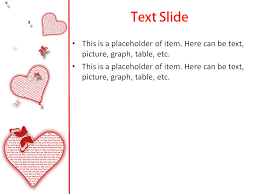 powerpoint templates free download heart love heart powerpoint template for impressive presentation free