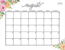 printable calendar 2018 august free calendar 2018 august daway dabrowa co