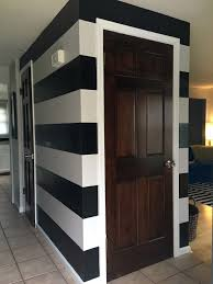 Entryway Wall How To Paint A Striped Wall U2014 5 O U0027clock Design Co
