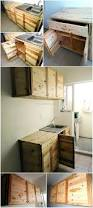 wood pallet recycled kitchen cabinets pallet ideas