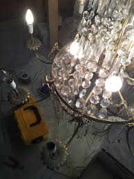 Chandelier Restoration Chandelier Rewiring London The Lamp Workshop