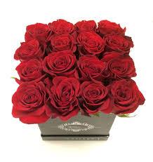 boxed roses grand floral couture box in mclean va l artisan