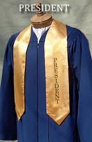 graduation stole custom custom satin stoles graduation stoles class officer stoles
