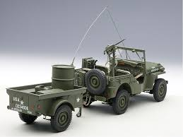 ford military jeep die cast autoart willys jeep savage on wheels