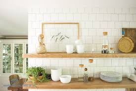 diy kitchen shelves how to install heavy duty floating shelves for the kitchen