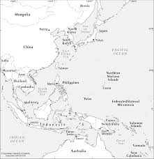 Maps Of Southeast Asia by Se Asia To West Pacific Cartogis Services Maps Online Anu