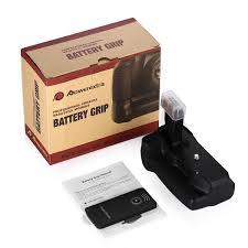 powerextra bg e18 battery grip for canon eos 750d rebel t6i 760d