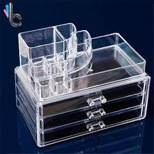 aliexpress com buy 3 drawers transparent acrylic makeup