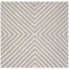 Silver Area Rug Striped Silver Area Rugs Rugs The Home Depot